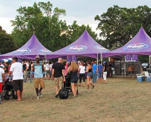 large tent - marquee tent - prilosec