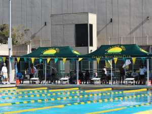 printed canopy - Golden West Swim Club