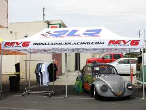 RLR racing 10x20 promotional canopy