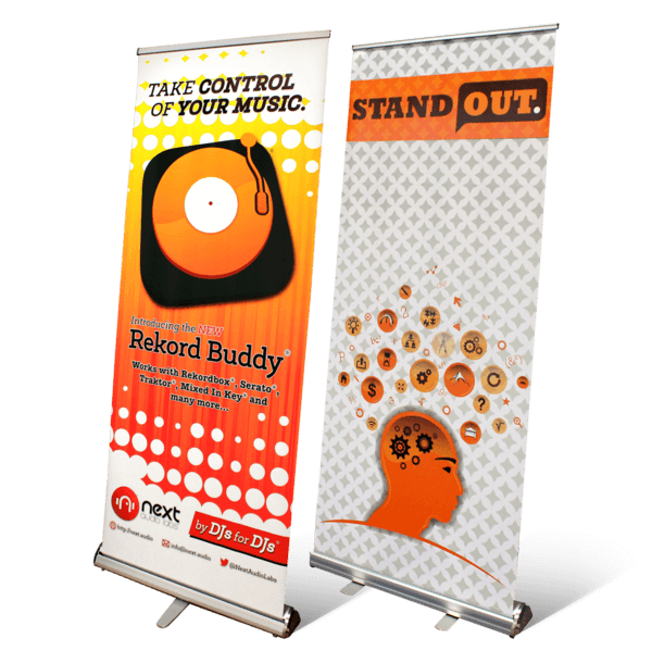 Roll Up Banners for tradeshows
