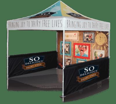 food vendor tent