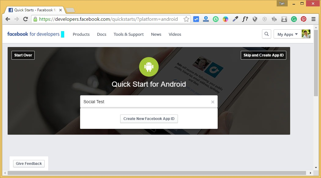 Android Studio Facebook Login Share Like Tutorial – Part 1