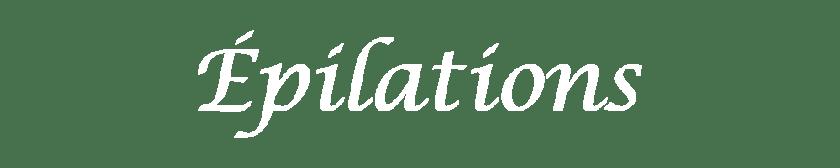 Epilations Un instant Hors du Temps Institut de beauté Marssac sur Tarn