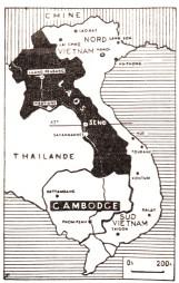 carte Vietnam, Tribune Socialiste N°231, 12 Janvier 1963