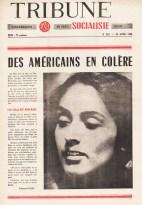 Couverture Tribune Socialiste N°283, 23 Avril 1966