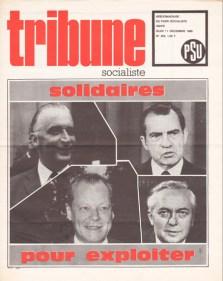 Couverture TS N°433, 11 Décembre 1969