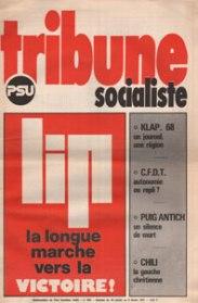 Couverture TS N°605, 30 Janvier-5 Février 1974