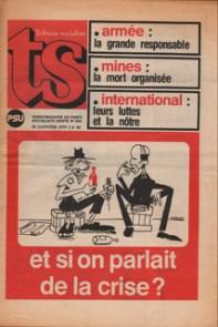 couverture de TS N°640, 10 Janvier 1975