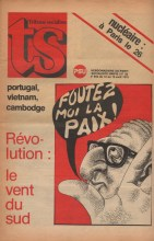 Couverture TS N°652, 12 Avril 1975