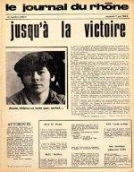 Le journal du Rhône, 1968