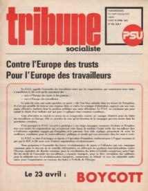 Appel au boycott des élections du 23 Mars 1972