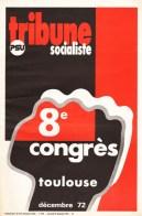 Couverture de Tribune socialiste N°558, 13 Décembre 1972