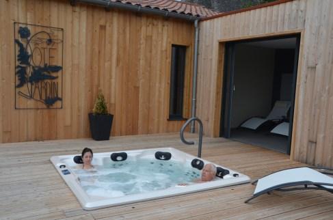 Spa en plein air Marcolès Cantal