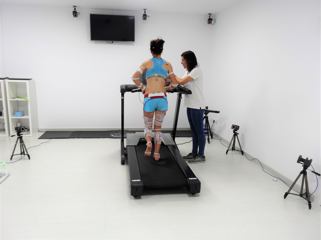 THE INSTITUT CATALÀ DEL PEU CONDUCTS A BIOMECHANICAL ANALYSIS TO GISELA CARRIÓN, CHAMPION OF SPAIN'S VERTICAL KILOMETER.