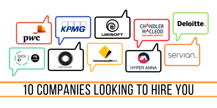 10 companies looking to hire