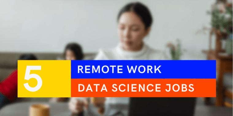 remote data science jobs