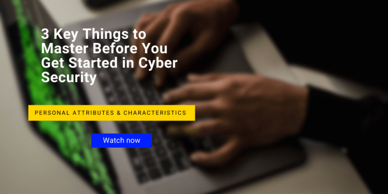 get started in cyber security