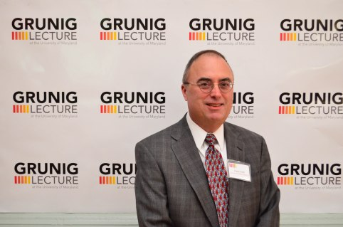 Frank Ovaitt at 6th Annual Grunig Lecture [Efe Abugo Photography]