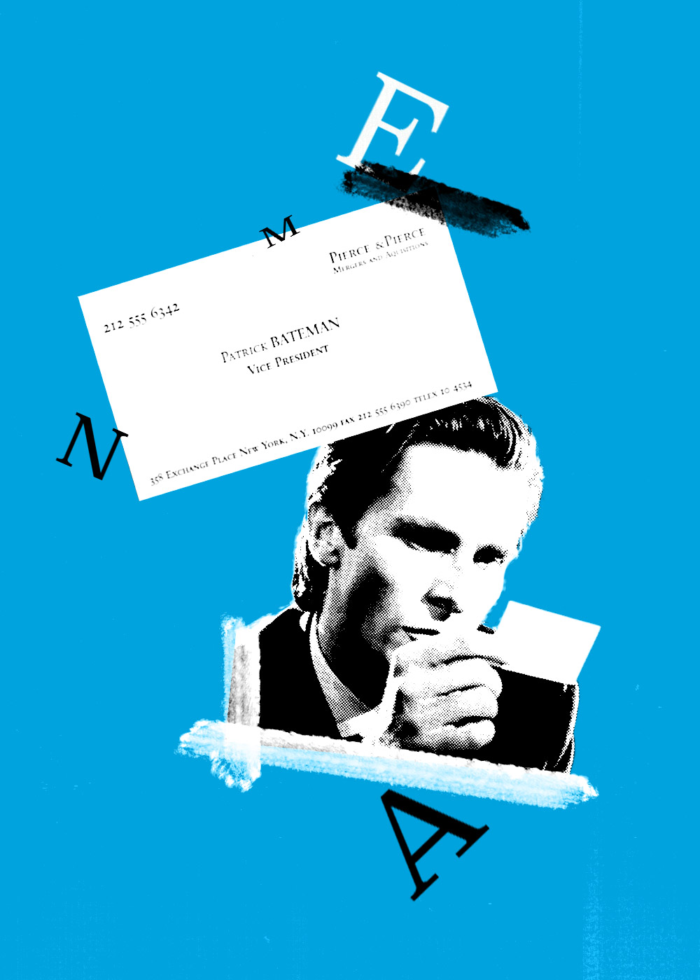 The horror comedy movie was directed by mary harron using a screenplay she and guinevere turner adapted from a novel of the same name by bret easton ellis. This Is A Mostly True Story About Business Cards Institutional Investor