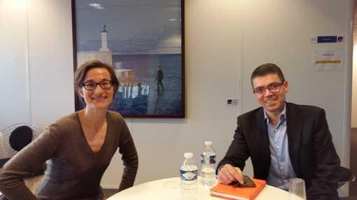 Cécile Philippe et Guillaume Sarlat • Crédits : MC - Radio France