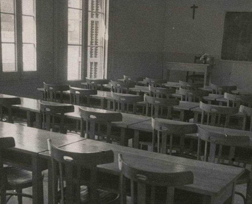 Institut Montserrat_edifici antig aula