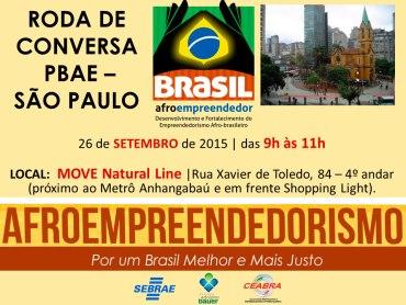 Roda de Conversa PBAE São Paulo