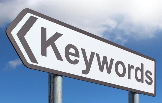 Keywords: Una palabra clave es la clave