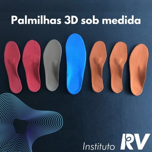 Palmilhas 3D