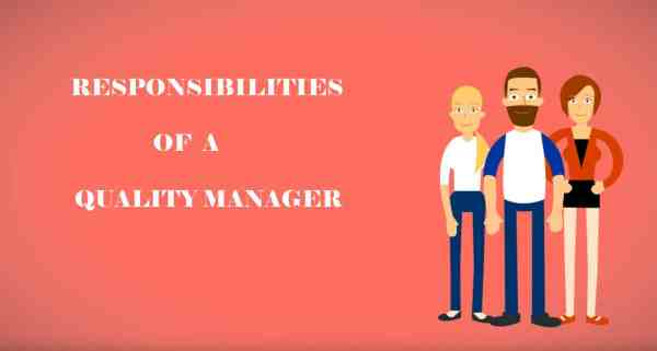 Responsibilities of a Quality Manager