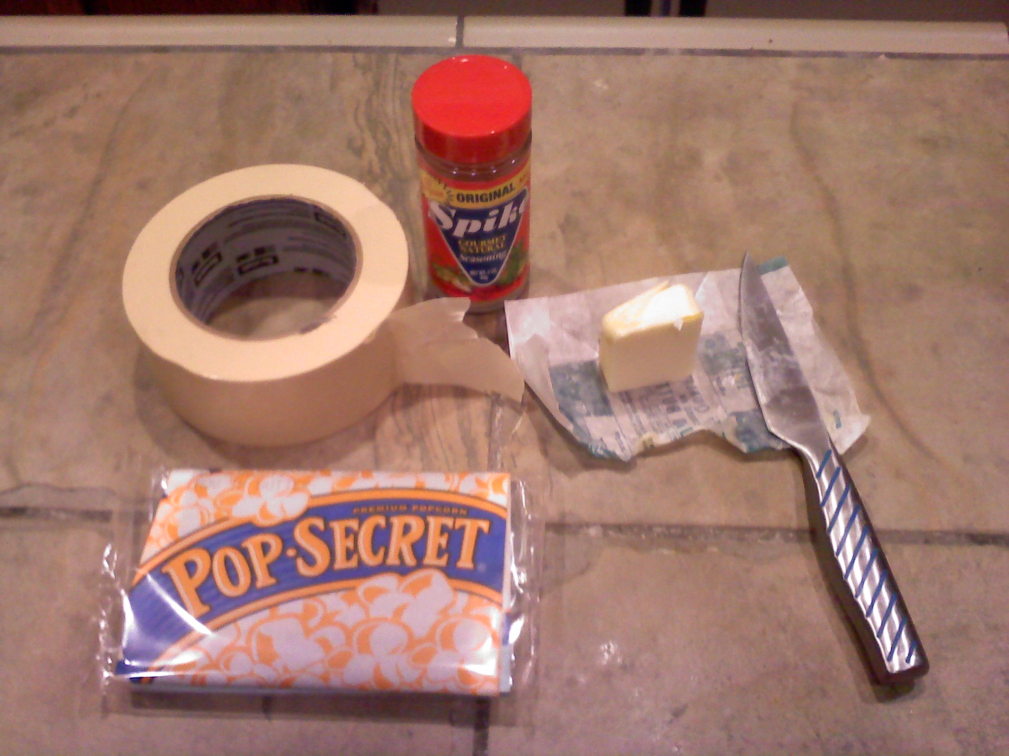 how to hack microwave popcorn 4 steps