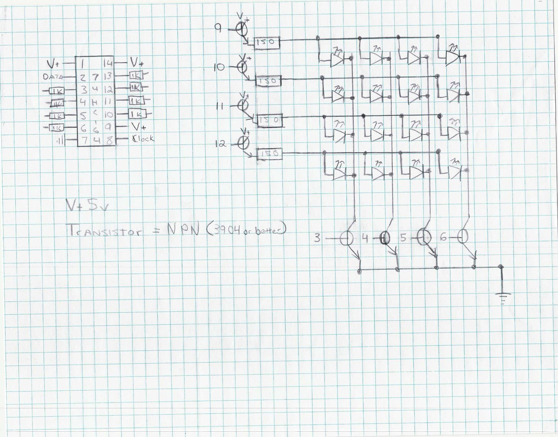 The 74hc164 Shift Register And Your Arduino 9 Steps