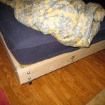 Strong And Tough Platform Bed Diy 7 Steps With Pictures Instructables
