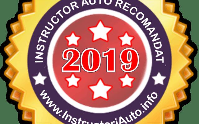 Instructor Auto Recomandat 2019