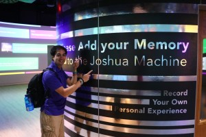 Joshua Machine at Museum of the Bible