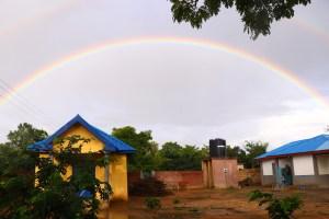 Rainbow in Ghana