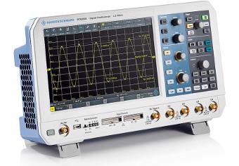 Osciloscopio básico con funcionalidades avanzadas