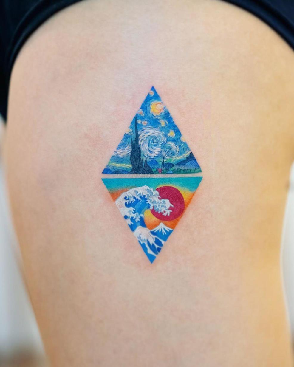 самые модные татуировки этого лета фото