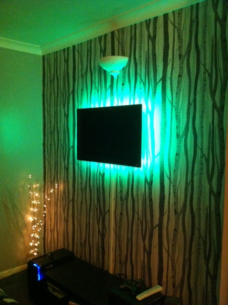 Light Up Your Tv Using Rgb Led Strips Instyle Led