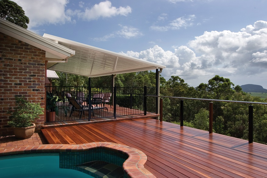 In Style Patios And Decks Flyover Or Raised Patios In