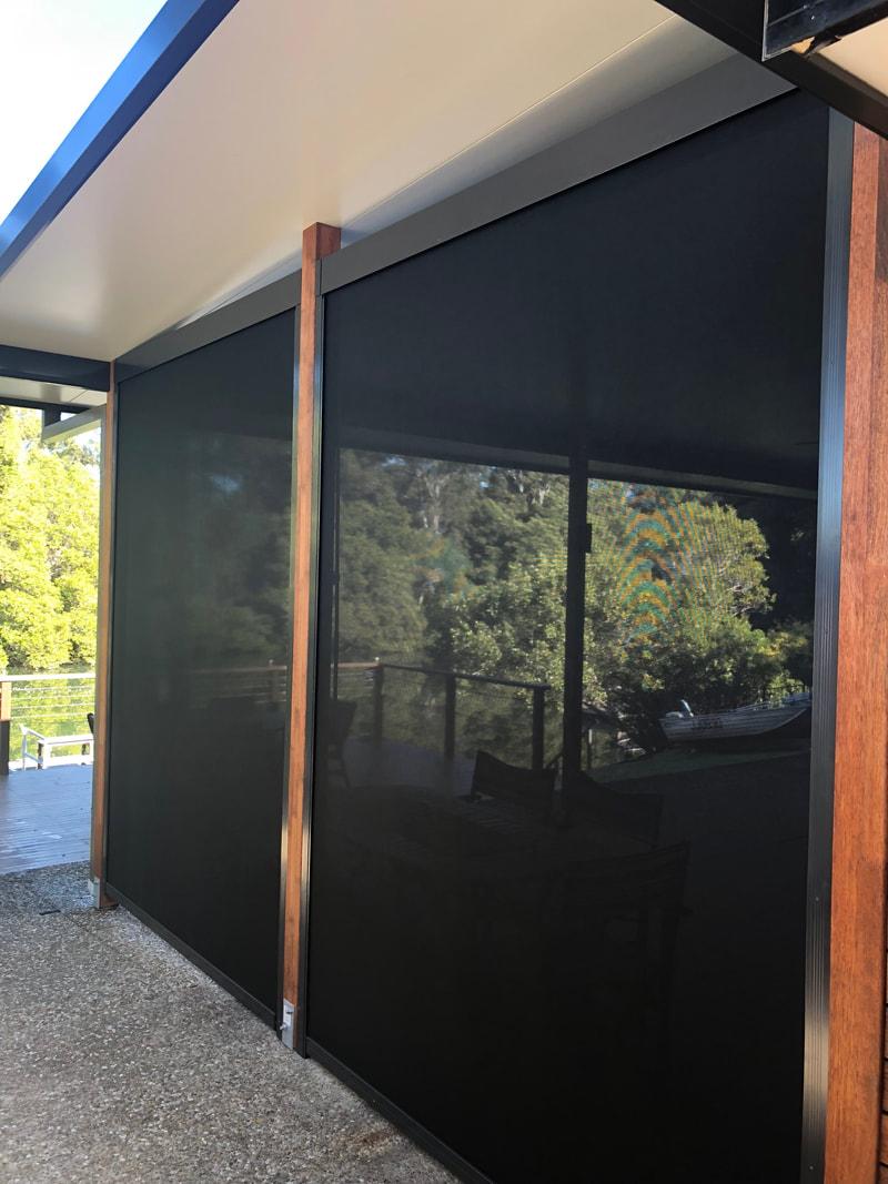 decks outdoor ambient blinds