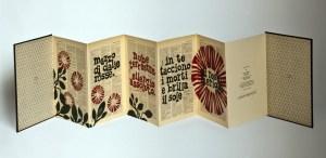 """ODE, 2010. PIER PAOLO PASOLINI.  Esemplare unico stampato a mano su carta proveniente dal """"Nuevo Diccionario Enciclopédico Universal"""", con interventi ad acquerello e collage."""