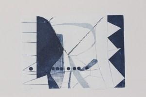 elfi (1993) bulino e acquatinta (cartella blu di Gillo Dorfles)