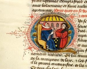 Régime du corps, France, perhaps Rouen,    ca. 1440-1450, MS M.0165 fol. 34v