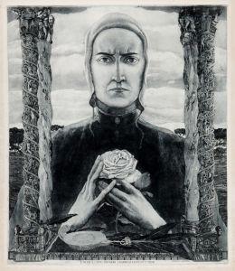 Luigi Bonazza_Dante Alighieri 1926