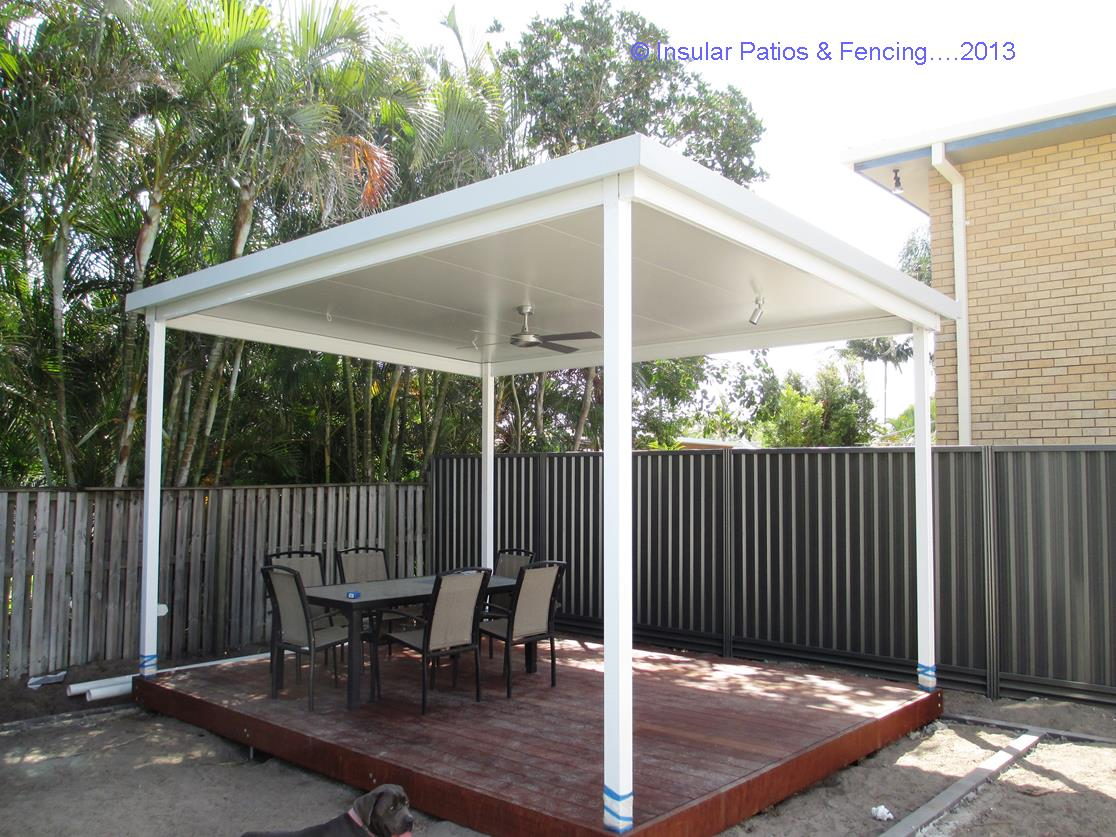Free Standing Patios Insular Patios Amp Fencing