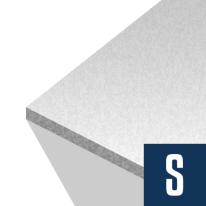 Foam Board Insulation 2 in x 4 ft x 8 ft R-8.4 EPS HalfBack
