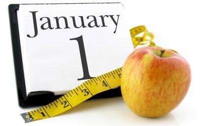 Bonnes résolutions et perte de poids (1/2)