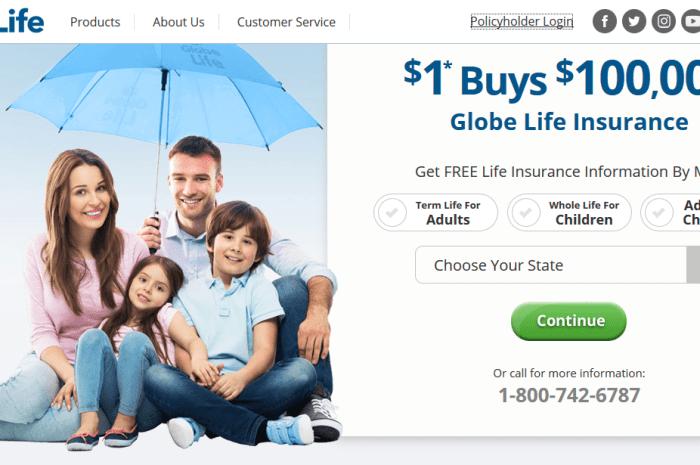 Globe Life Insurance Bill Payment – www.Globeontheweb.com