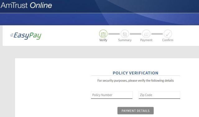 Amtrust Insurance Bill Payment