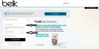 Belk Credit Card Login: How To Login, Make Payments Online
